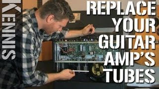 Download Lagu How to Replace Tubes in a Guitar Amp Mp3