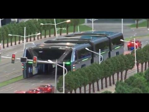 Este es el autobús chino que pondrá fin a los atascos