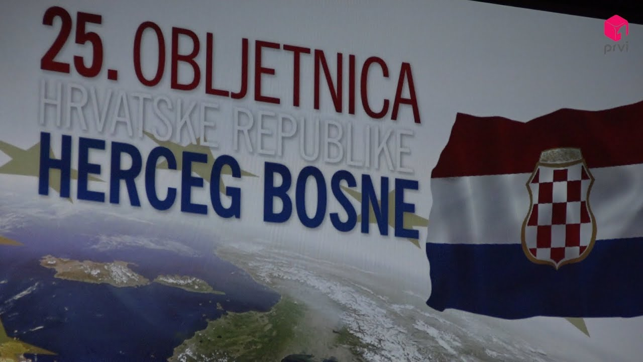 Svečanom akademijom obilježena 25. obljetnica Hrvatske Republike Herceg Bosne