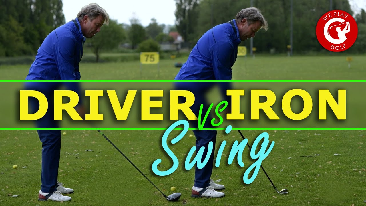Driver golf swing vs Iron golf swing - What's the difference?