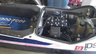 5. 1989 Kawasaki sx 650 stand up jet ski