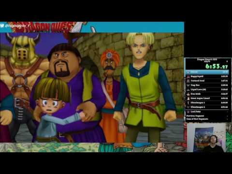 Dragon Quest 8 (3DS) Speedrun In 8:39:57