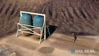 スクロールポンプと掘削機