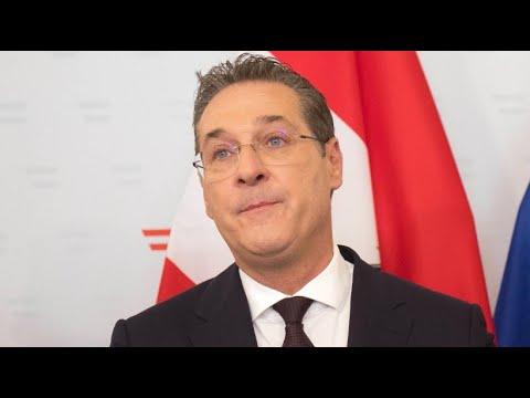 Österreich: Vizekanzler Heinz-Christian Strache (FPÖ) t ...