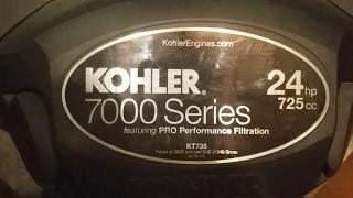 3. Kawasaki FR Vs. Kohler 7000