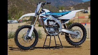 8. 2019 Yamaha YZ450F Specifications