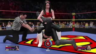FWF Super Women's Division Tournament 2 (Quarter Finals): Videl (3) vs Supergirl (6)