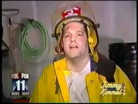 I Inhaled So Much Smoke: Fireman Treated for Smoke Inhalation... Is Stoned!