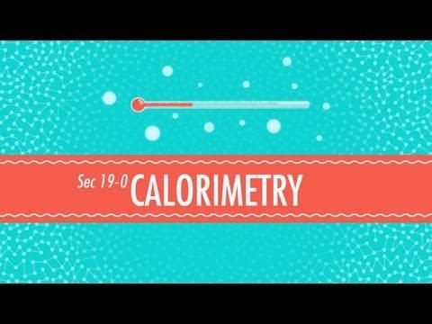 Calorimetry: Crash Course Chemistry #19