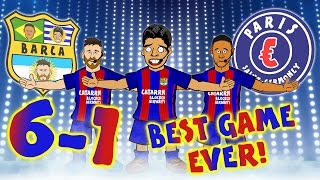 FC Barcelona vs Paris St Germain, 2nd leg goals and highlights! MSN go all 1D for a best song ever parody! ⚽️Subscribe to ...
