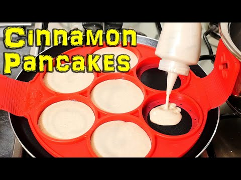 Quick Tutorial: How to Make Cinnamon Pancakes