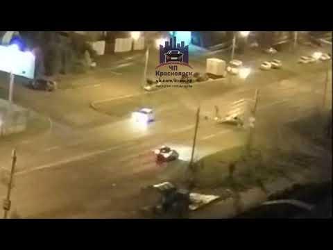 Мужества - Линейная 20.08.2018 ЧП Красноярск