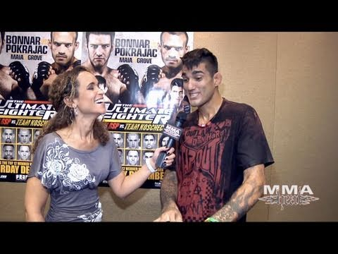 Kendall Grove Pre Fight is Psyched to Fight a Big Name Like Demian Maia