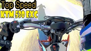 1. TOP SPEED of a Supermoto! | KTM 530 EXC | BLDH