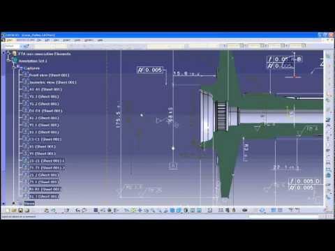 DrawtoPMI permet une migration 2D vers un modèle 3D avec PMI