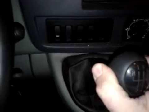 Тяжело переключаются передачи Рено Мастер (Renault Master) - решение проблемы (видео)