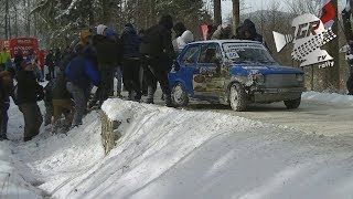 Teamwork Win! Racing Fans Lift Car Back On the Road
