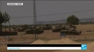 Syria: Turkey launches  operation to retake ISIS stronghold of Jarablus
