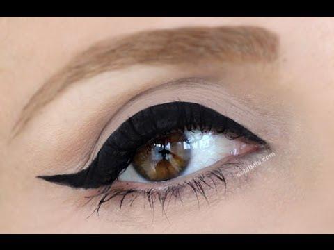 Cat Eye Eyeliner Nas?l Sürülür Günlük Eyeliner'?m