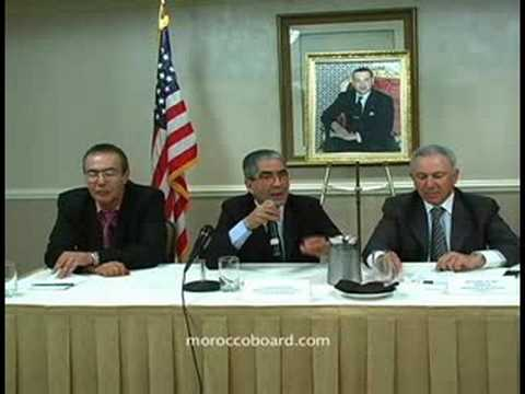 11 Showdown W/ Pres. Moroccan Human Rights Advisory Council