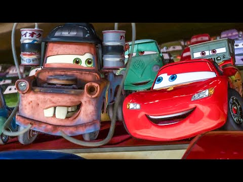 CARS 2 All Movie Clips (2011)