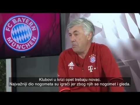 Ekskluzivni intervju Carla Ancelottija za HNTV