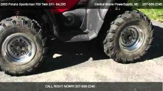 10. 2005 Polaris Sportsman 700 Twin EFI  - for sale in LEWISTON, ME 04240