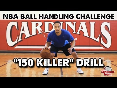 the pro - Try to beat former D-I shooting guard Mike Dixon in this 'Beat the Pro Ball Handling Challenge' from NBA skills coach Drew Hanlen... and Raise Your Game! And...