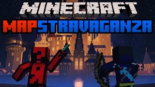Minecraft Mapstravaganza! Confusing Brilliance, Tic Tac Toe and Slimey Parkour Race!