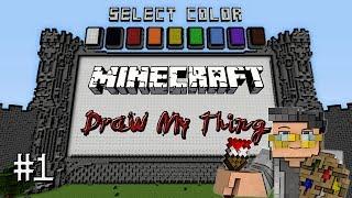 Minecraft: Draw My Thing - Guess What Pokemon!? (Mineplex Minigame)