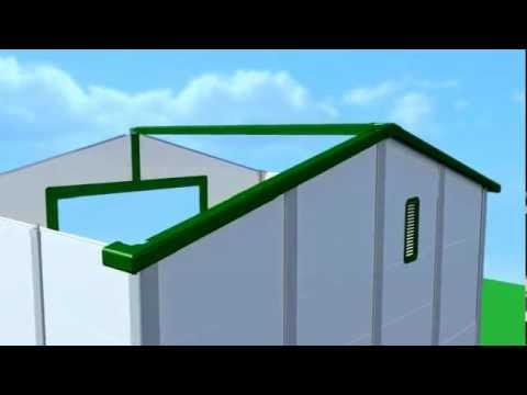 פי.וי.סי - סרטון מפורט להרכבת מחסן פי וי סי - מנרב מידות 288 * 217 להזמנת הרכבה התקשרו - 0522447444 ירון גיל.