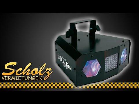 LED Dual Effektstrahler inkl. Stroboskop