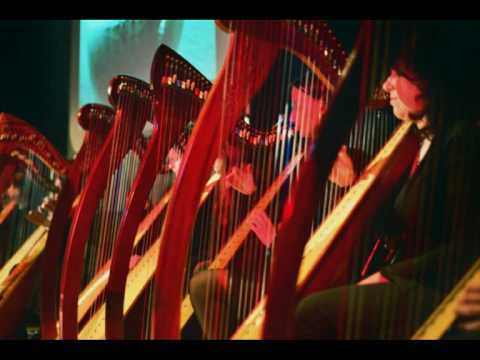 Celtic Harp Orchestra - On Greensleeves