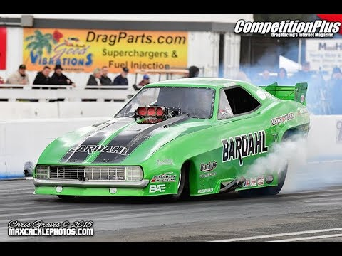 2018 BAKERSFIELD MARCH MEET - FRIDAY'S FUNNY CAR QUALIFIERS
