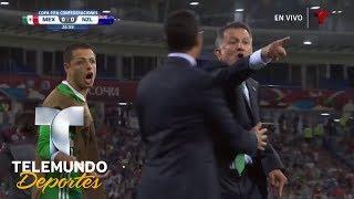 Video A. Talavera le tapa gol a Wood y la banca estalla | Copa FIFA Confederaciones Rusia 2017 | Telemundo MP3, 3GP, MP4, WEBM, AVI, FLV Juni 2017