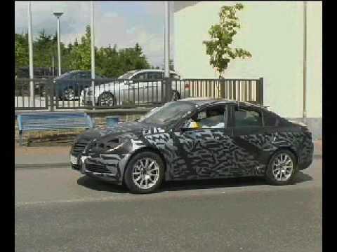 New Opel Vectra Spy Video