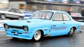 The BADDEST Ford Escort We've Ever Seen! by 1320Video