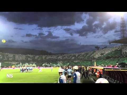 Salida de la Hinchada de Nacional en la Final... Nacional Campeón! - Los del Sur - Atlético Nacional