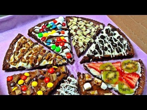 PIZZA DE BROWNIE CON NUTELLA Y CHOCOLATE | KARLA CELIS
