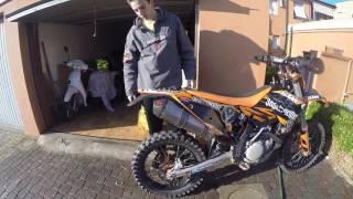 5. KTM EXC 450 2009, AKRAPOVIC SOUND