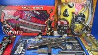 Video Guns Toys for Kids ! Ninja,Pirates,Military, Police Weapons & equipment Toys Video for Kids MP3, 3GP, MP4, WEBM, AVI, FLV Desember 2018