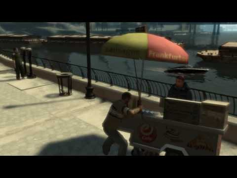 GTA IV-messing with pedestrians 3 (bloopers, glitches and funny stuff)