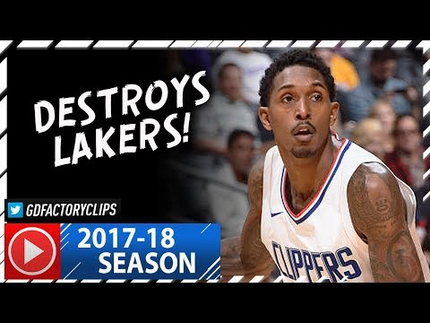 Lou Williams Full Highlights vs Lakers (2017.11.27) - 42 Pts, CLUTCH!