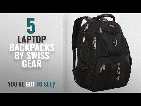 Top 10 Swiss Gear Laptop Backpacks [2018]: SwissGear 1900 Scansmart TSA Laptop Backpack - Black