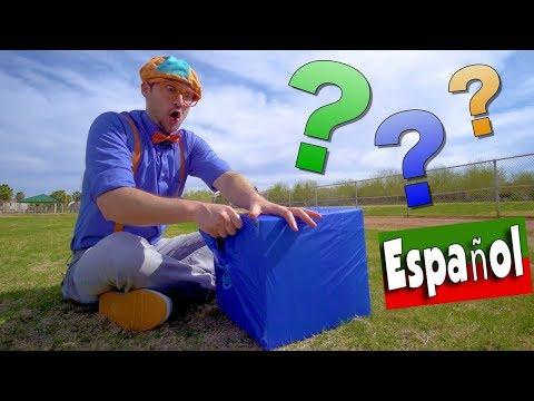 Aprende Los Colores para Niños Pequeños con Blippi Español  CAJAS DE COLORES
