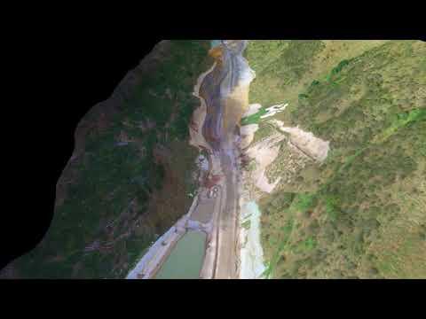 Te Puka Stream diversion construction progress – January 2018