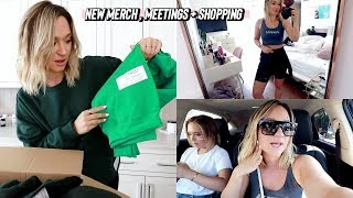 designing new merch, meetings + shopping at 3rd street promenade by Alisha Marie Vlogs