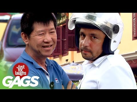 Funny Video – Don't Honk the Police – JFL Gags Asia Edition