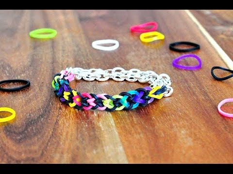 How to make Inverted fishtail without a loom