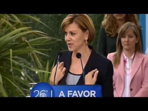 """Cospedal: """"El PP cree en la igualdad de verdad entre hombres y mujeres"""""""